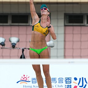 AVC Asian Beach Tour HK Open 2014 Australia 2:0 Japan