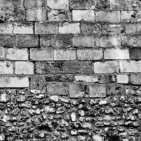 Window In Stone and Brick