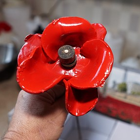 Got my Poppy in time for a Christmas display.