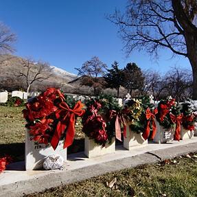 Fort Douglas Cemetery Wreaths