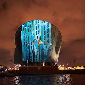 Amsterdam Light Festival with D4s & high iso