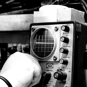 an oscilloscope and its owner
