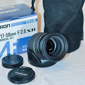 Tamron SP A016 17-50 mm F/2.8 Di-II LD XR Aspherical IF AF Lens For Nikon