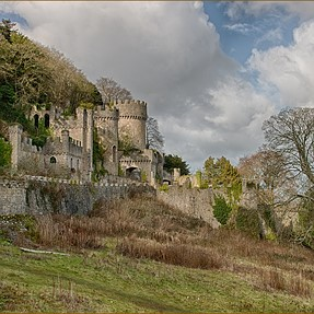 Gwrych Castle - an abandoned gem