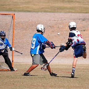U11 and a JV image Lacrosse
