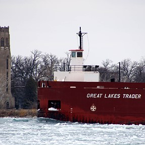 2 Freighters and a Coast Guard
