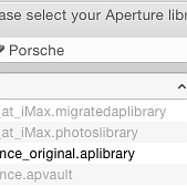 Opening an Aperture library in OS X Photos prevents import into Lightroom, Capture One