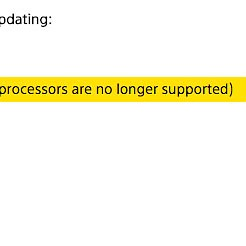 """a6000 firmware: """"core-2 Duo not supported""""?"""