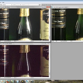 Exposure Invariance Tool Comparison of Adobe and Silkypix