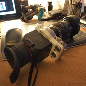 Older new camera and lens !!!