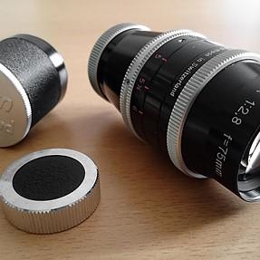 Kern Paillard C-mount lenses
