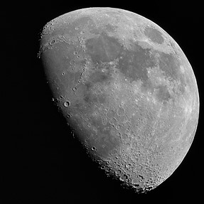 The Moon - taken with Sigma 150-600mm Contemporary version on Nikon mount