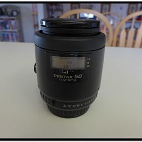 Pentax SMC - FA50 50mm Macro Lens for K-Mount - Excellent Shape