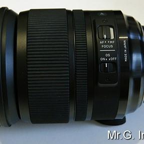 SIGMA (for NIKON) 24-105mm f/4 DG OS HSM ART lens.