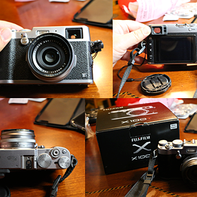 X100T Silver + B+W Xs Pro filter for sale (3400 shots)