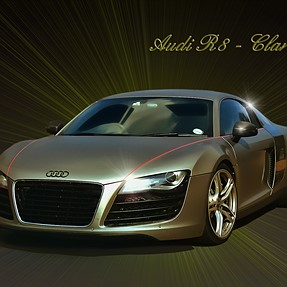 AUDI R8 - I want one --- SX50