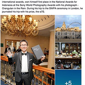 Won 1st Place in Sony World Photography Award - Thank You!