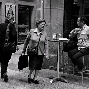 Basque Country Streets IV / Leica M Monochrom - 35 Summilux ASPH 1.4