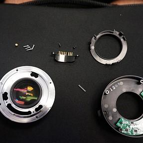 Kenko Pro 300 DGX 1.4x taken apart