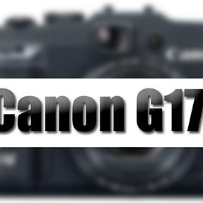 Canon G17 Finally Coming