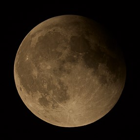 Last Sunday's Lunar Eclipse, with D750