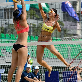 AVC Women's Beach Volleyball Championship 2015 Day 2 highlights
