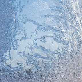 This was frost on my back door. Just thought it presented a neat image. No retouching was done