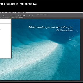 Photoshop CC type tool question