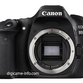 Canon 80D Full images and specification