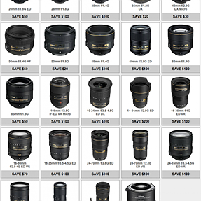 """Nikon's """"lens only"""" rebates are back"""