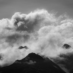 Five Sisters of Kintail from Loch Duich