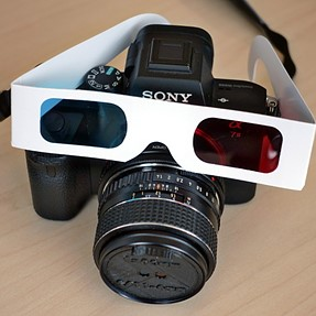 3D-Printed Anaperture Single-Shot Anaglyph Aperture
