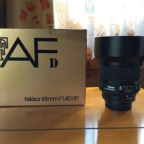 Nikon 85mm 1.4AFD For Sale