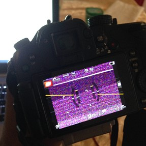 Panasonic Gh4: Freezing and Colored Artifacts in Live View