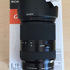 FS: Sony SEL-18200LE, SEL35F18 and SEL20F28 APS-C lenses like new in boxes