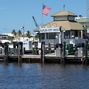 Naples Dock and near by