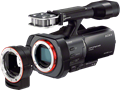 Sony unveils NEX-VG900 full-frame camcorder, VG30 APS-C model and 18-200 lens