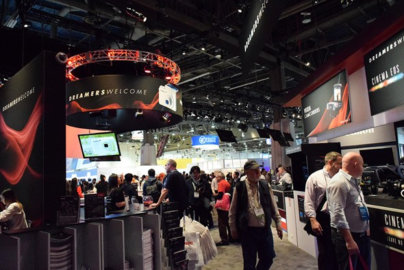 CES 2014: Canon Stand Report