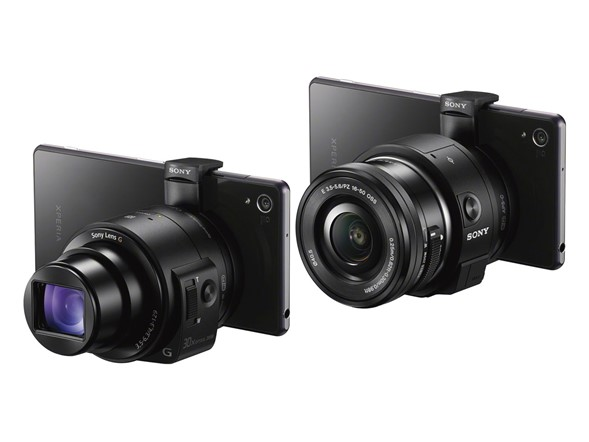 Sony's new Cyber-shot DSC-QX30 and Alpha QX1