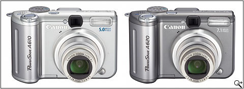 Canon PowerShot A610 & A620