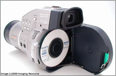 Sony Mavica CD1000, click for larger image