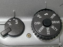 Left side controls